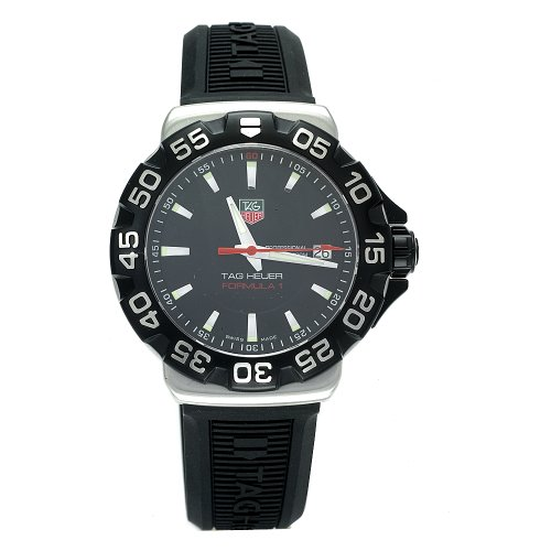 TAG Heuer Men's WAH1110.BT0714 Formula 1 Rubber Strap Watch