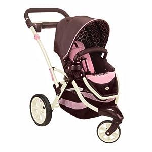 Contours Options 3-Wheel Stroller, Blush