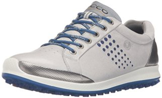 ECCO Men's Biom Hybrid 2 Golf Shoe,Concrete,45 EU/11-11.5 M US