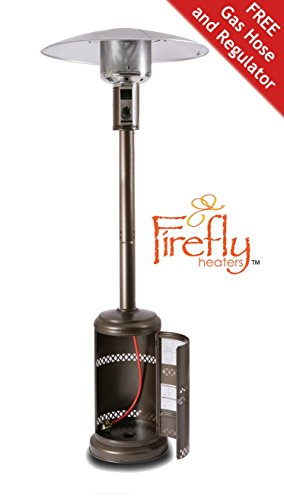 41%2BmdSus34L - BEST BUY #1 Firefly 12kW Premium Outdoor Gas Patio Heater Powder Coated Steel Reviews and price