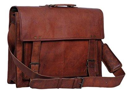 Komals-Passion-Leather-18-Inch-Retro-Leather-Briefcase-Laptop-Messenger-Bag