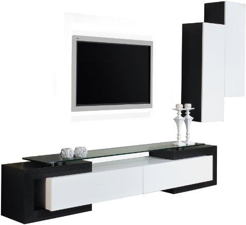 ensemble meuble tv blanc pas cher
