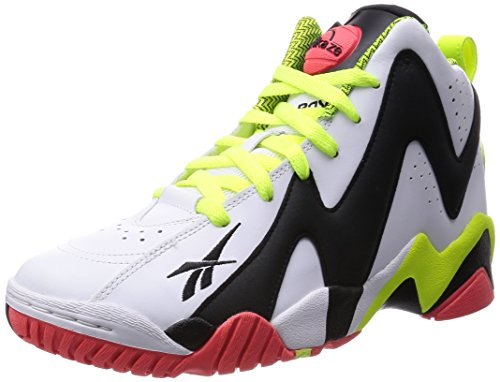 [リーボック] REEBOK PUMP KAMIKAZEⅡ M46317 VITAMIN C/HYPER GREEN/BLACK/WHITE/SWAG ORANGE(VITAMIN C/HYPER GREEN/BLACK/WHITE/SWAG ORANGE/US 8H)