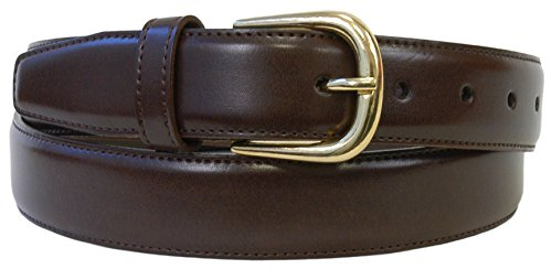 The Vegan Collection Garrison Brown Men's Belt (Medium (34