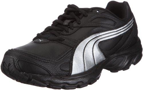 Puma Axis XT 185050, Herren, Sportschuhe - Fitness, Schwarz (black-silver metallic 08), EU 42.5 (UK 8.5) (US 9.5)