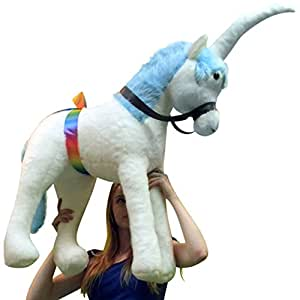 American Made Giant Stuffed Unicorn 3 Feet