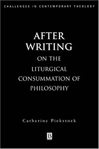 """Cover of """"After Writing: On the Liturgica..."""