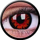 Farbige Kontaktlinsen mit Stärke crazy Kontaktlinsen crazy contact lenses Volturi Dämon 1 Paar. Mit Linsenbehälter!