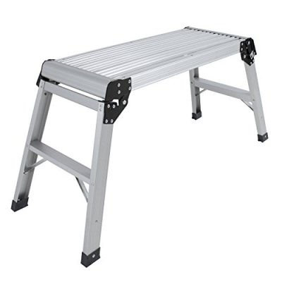 Aluminum-Platform-Drywall-Step-Up-Folding-Work-Bench-Stool-Ladder