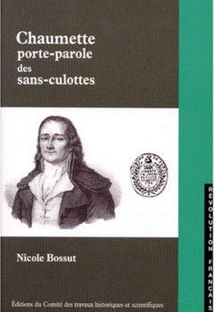 Livres Couvertures de Chaumette porte parole sans culotte
