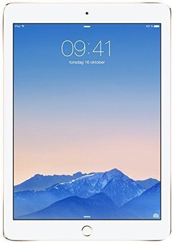Apple iPad Air 2 MH0W2LL/A (16GB, Wi-Fi, Gold) NEWEST VERSION (Certified Refurbished)