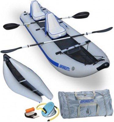 Sea Eagle 435ps Paddleski Inflatable Catamaran Kayak