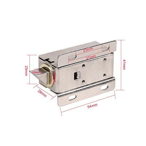 KKmoon Serrure de porte /électrique fail secure NC 12V pour le syst/ème de contr/ôle dacc/ès de porte dentr/ée