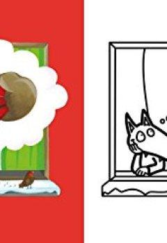 Livres Couvertures de P'tit Loup - Mes coloriages à ne pas depasser - Noel