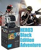 【GoPro】 HD HERO3 ブラックエディション アドベンチャー 【ビデオカメラ】 【国内正規品】