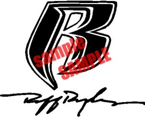 Amazon Ruff Rider Logo White Decal Sticker Vinyl