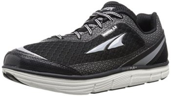 Altra Women's Intuition 3.5 Running Shoe, Black/Silver, 8 M US