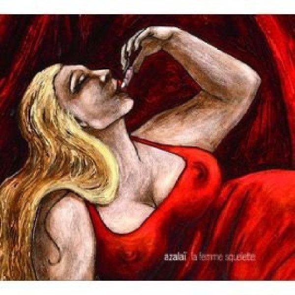 Couverture du CD d'Azalaï. Titre : La femme squelette.