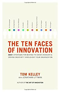 "Cover of ""The Ten Faces of Innovation: ID..."