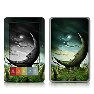 Moon Stone Design Protective Decal Skin Sticker for Barnes and Noble NOOK (Black and White LCD) E-Book Reader - High Gloss Coating