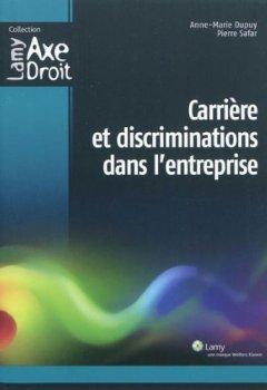 Livres Couvertures de Carrière et discriminations dans l'entreprise