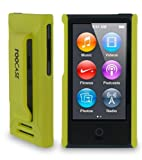 rooCASE Ultra Slim Matte (lime green) Shell Case for Apple iPod Nano 7 (7th Generation)