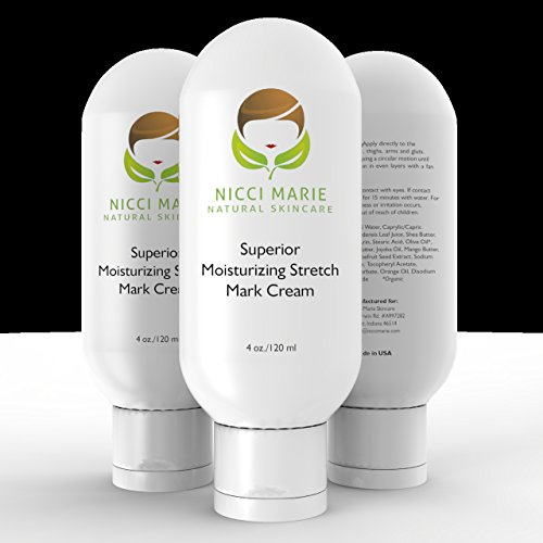 Stretch Mark Cream ~ Best Natural Firming Creams for the Prevention & Removal of Stretch Marks ~ 30 DAY GUARANTEE