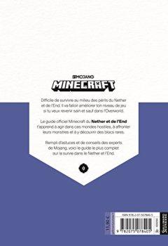 Livres Couvertures de Minecraft, le guide officiel du Nether et de l'Ender