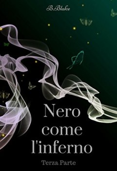 Copertina del libro di Nero come l'Inferno: Terza Parte
