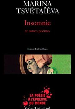 Livres Couvertures de Insomnie et autres poèmes