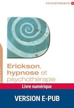 Livres Couvertures de Erickson, hypnose et psychothérapie