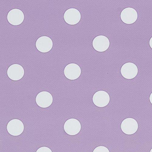 Serie Kitchen Princess Farbe lila Wachstuch Tischdecke 140 x 275 cm