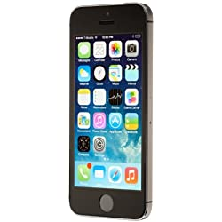 Apple iPhone 5S Space Gray 16GB Unlocked GSM Smartphone (Certified Refurbished)