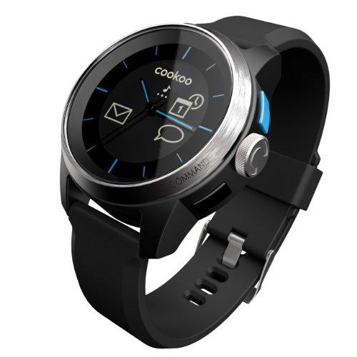 [並行輸入品]COOKOO Bluetooth 4.0 Watch iOS compatible (Silver/Black)