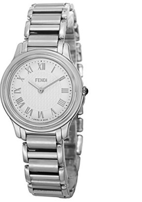 Fendi-Womens-F251034000-Classico-Analog-Display-Quartz-Silver-Watch