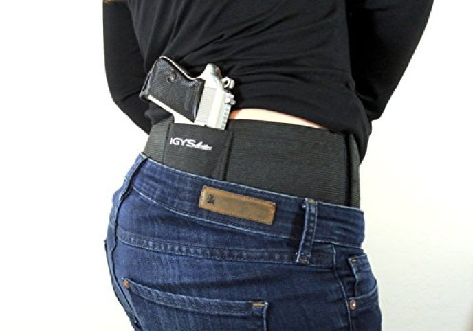 Concealed Carry, Belly Band, Gun Holster - Small