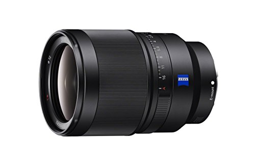 Sony SEL35F14Z Distagon T FE 35mm f/1.4 ZA Standard-Prime Lens for Mirrorless Cameras