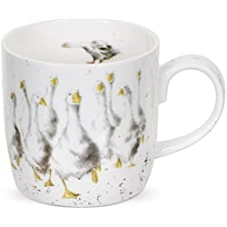 Taza de porcelana Wrendale Designs gansito