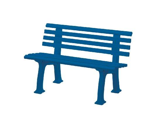 Gartenbank Ibiza blau Blome