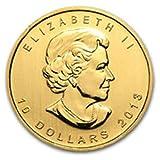 メイプルリーフ金貨 1/4 オンス 並行輸入品