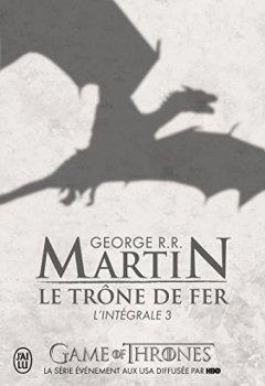 Livres Couvertures de Le Trône de fer : L'intégrale, tome 3 (Modèle aléatoire)