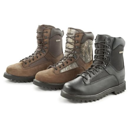 Guide Gear Men's Hunting Boots 800 Gram Thinsulate Waterproof, Brown, 11D