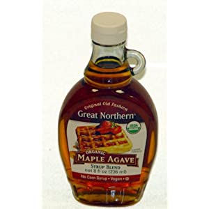 Great Northern Organic Maple Agave Syrup 8 oz. (Pack of 12)