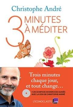 Livres Couvertures de Trois Minutes à méditer