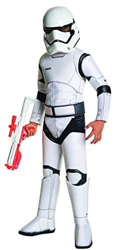 Star Wars: The Force Awakens Child's Super Deluxe Stormtrooper Costume, Medium
