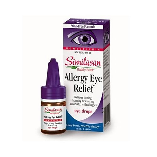 Similasan Pink Eye Relief Eye Drops, .33-Ounce Bottles (Pack of 3)