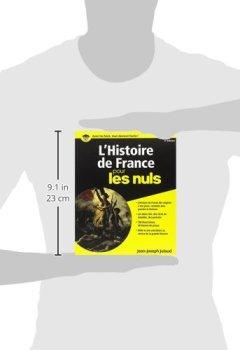 Telecharger L'Histoire de France Pour les Nuls, 2ème édition de Jean-Joseph JULAUD