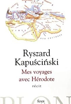 Livres Couvertures de Mes Voyages Avec Hérodote