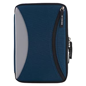 "M-Edge Latitude Kindle Jacket, Navy Blue (Fits 6"" Display, Latest Generation Kindle)"