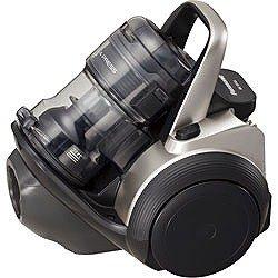 Panasonic NIGHT COLOR、ECONAVI 電気掃除機 MC-SR10J-CK コモンブラック 遠心分離方式パワープレスサイクロン MC-SR10J-CK